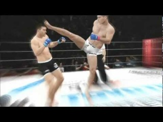 UFC Undisputed 3 Murillo Ninja Vs Mauricio Shogun Rua Pride Mode Gameplay Xbox 360/PS3 HD HQ