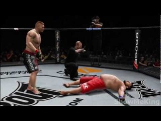 Brock Lesnar 10 Second Knockout - UFC Undisputed 3 [HD]: Ultimate Technique vs. Roy Nelson