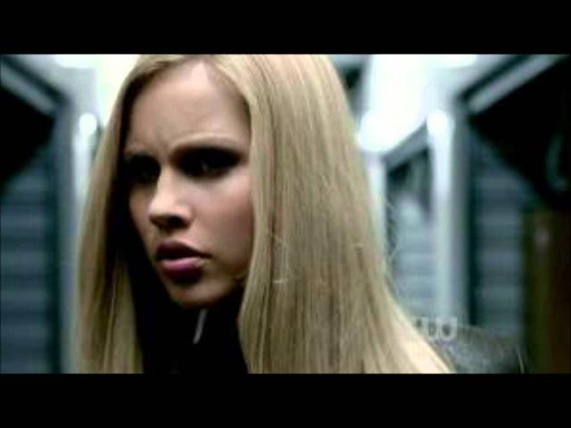 The vampire diaries joseph morgan/klaus Claire holt/Rebekah