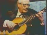 Андрес Сеговия исполняет Mario Castelnuovo-Tedesco - Guitar Concerto No.1 in D, Op.99, 3-я часть.