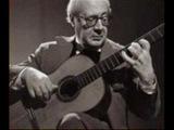 Андрес Сеговия исполняет Ф.Таррега