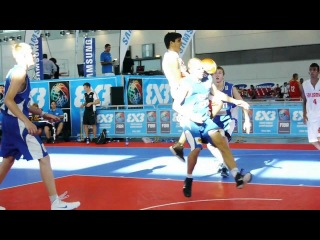 3x3 Youth World Championship - Sri Lanka's circus shot