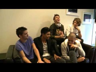 The Wanted welcomed to Australia