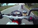 Видео: Aprilia Dorsoduro 1200 vs KTM 990 Supermoto R vs Agusta Brutale 920