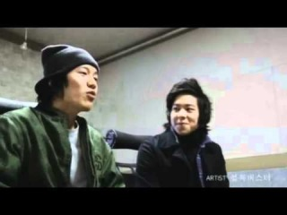 OTHER | 100300| Coed School's Taewoon pre-debut with Block B's Kyung