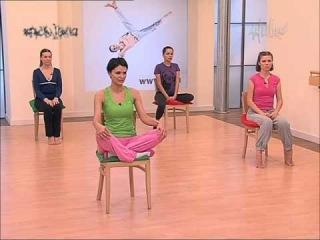 Гимнастика для лица:часть-19.Фитнес для лица-Овал лица Алёна Россошинская