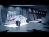 гармоничная реклама и красивая музыка...(Shell Helix Ultra Transparent Car)