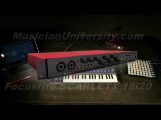 HOT: SCARLETT 18i20 USB Audio Studio Interface for Recording by Focusrite