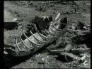 Изготовление осиновой лодки долбленки Финляндия 1936 год