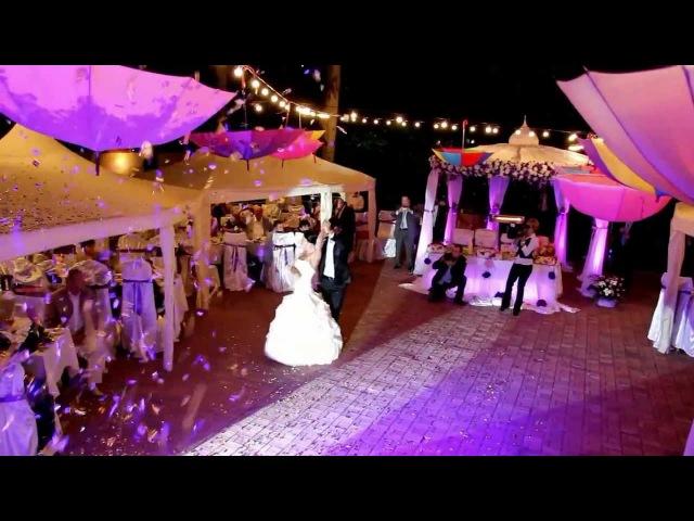 Самая красивая свадьба в Луганске 2012 года