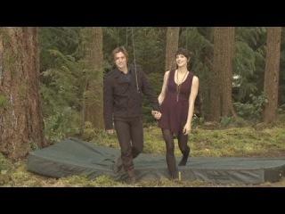 Видео за кадром фильма