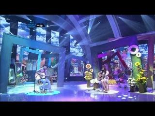 120607 Ён Хва и Джуниэль на M! Countdown с песней Fool