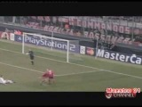 Uefa Champions League 2002/2003 Highlights AC Milan 1-0 Lokomotiv Moscow - 19/2/2003 / Милан - ЛОКОМОТИВ