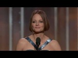 Jodie Foster Emotional Speech - Golden Globe Awards 2013 (Life Time Achievement Award)