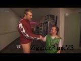 WWE Smackdown 9/7/12 - Daniel Bryan & Hornswoggle Funny Backstage Segment (HQ)