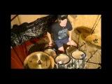 «Blastbeat Drum Contest» Part 1, Кирносов Геннадий Викторович, 22 г., г. Волгоград, KOLOSSUS - Barbaric