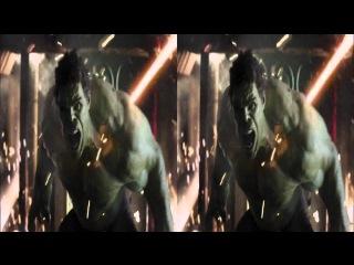 Мстители | Трейлер Blu-ray издания в 3D