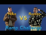 GTA IV Niko VS Roman Ramp Challenge (GTA IV Machinima)