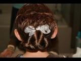 Pretzel Twist into Messy Bun | Updos | Cute Girls Hairstyles