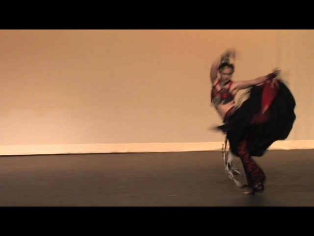 Kaitlyn's Bellydance Flamenco Fusion to Radius by Hipbone