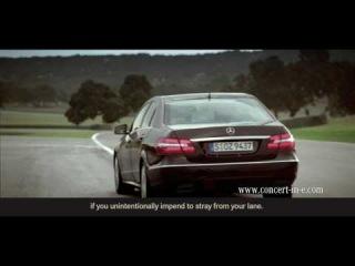 Mercedes-Benz.tv: The new E-Class lane keeping assist