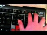 Обзор на клавиатуру и мышь.X7.