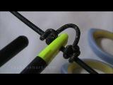Как правильно завязать петлю для захвата тетивы релизом на блочном луке?