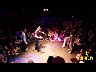 Samo & Hurrikane vs Toyin & Tasha | JUSTE DEBOUT USA | Strife.tv | HOUSE FINALS | 2013