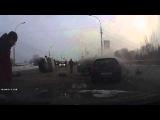 Ужасное ДТП Машина «скорой помощи» перевернулась