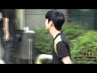 120720 KBS Music Bank On the way 뉴이스트 종현 JR Ver