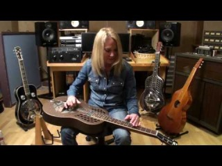 Cindy Cashdollar performing Oh Susanna on her National Resophonic.