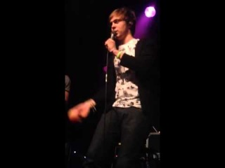 R5 - Ellington getting hit with a fake boob at the q&a in A