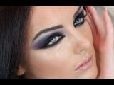 Haifa Wehbe Arabic Makeup Tutorial Blue Smokey Eye هيفاء وهبي م&#160