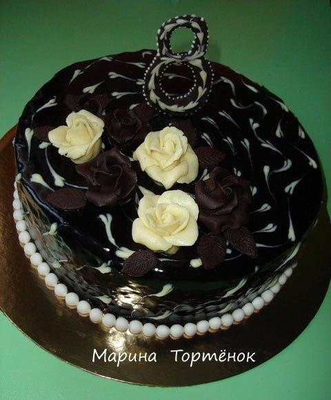 Шоколадная глазурь на желатине