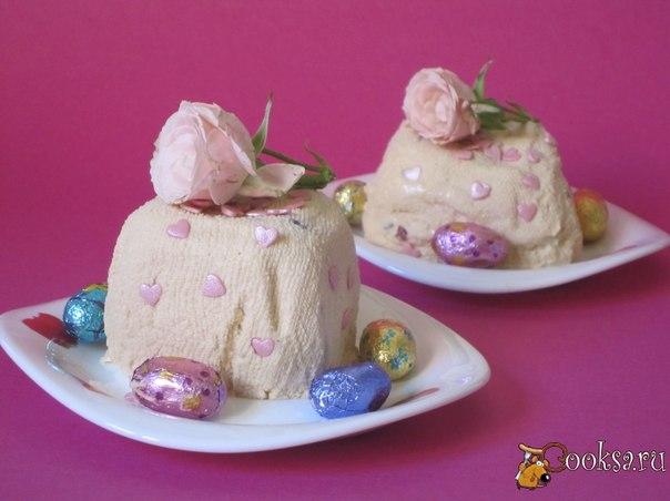 Творожная мини-пасха Вкусная творожная мини-пасха для вашего праздничного стола.