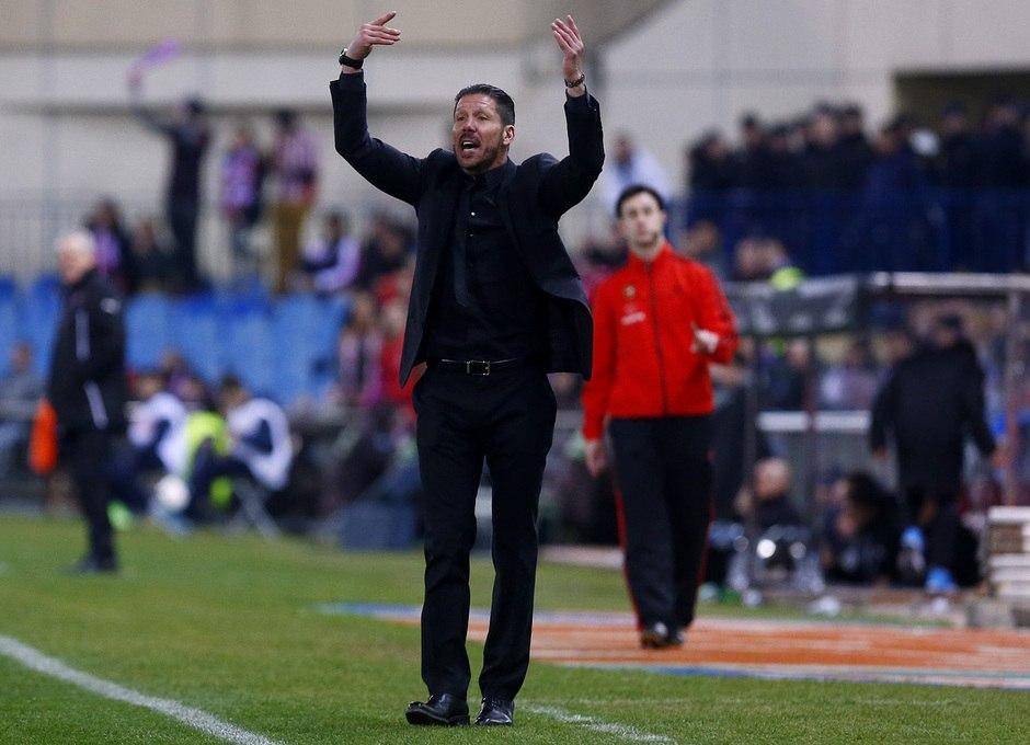 Симеоне: буду говорить о чемпионской гонке «Атлетико» за пять матчей до конца
