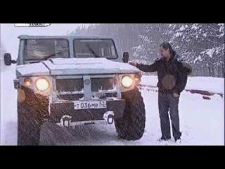 ГАЗ Тигр 2330 - супер внедорожник с военными корнями
