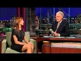 Alyson Hannigan & David Letterman 09/2009