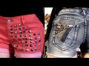 DIY Studded Shorts! 2 Styles Do It Yourself Studded Jean Shorts