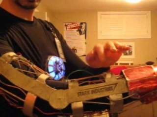 Tony Stark - Flight Stabilizer, Arc Reactor, Glove, Badge