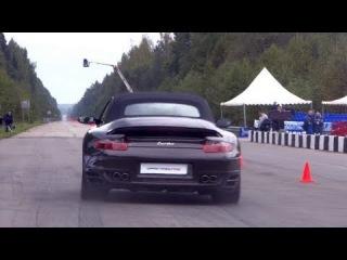 Audi RS6 Evotech vs Porsche 911 Turbo Stage 2