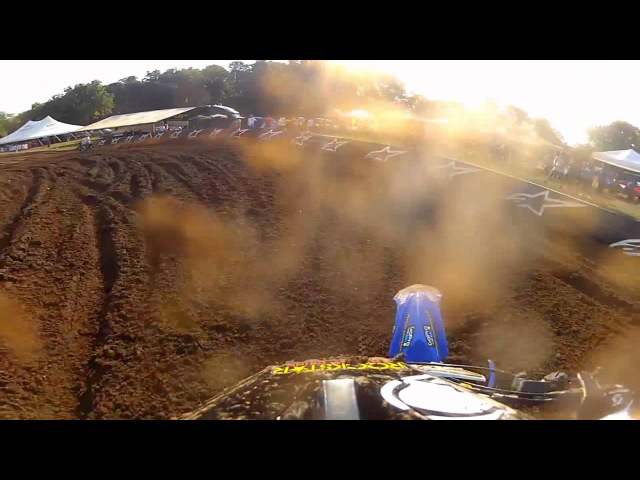 GoPro HD Tommy Weeck Practice Lap 2012 Lucas Oil Pro Motocross Championship Red Bud