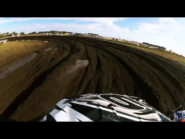 GoPro HD: Adam Monea Lap - Monster Energy MX Nationals - Round 3