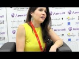 ESCKAZ live in Baku Filipa Sousa (Portugal) interview