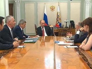 О новом оснащении для клиник и зарплатах врачей говорил Президент с российскими академиками - Первый канал