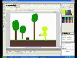 как сделать фон в программе Macromedia Flash MX