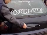 Ground Zero 30SPL Extreme with fiAt bravo !!