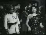 Shamshad Begum singing multilingual song for P.Bhanumathi,