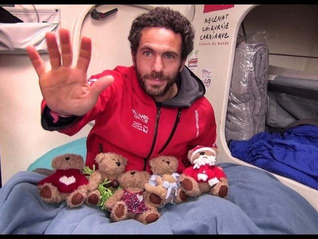 Vendée Globe - 60000 fans = 5 enfants sauvés ! Soutenez Initiatives-Coeur et Tanguy de Lamotte
