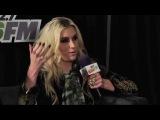 Ke$ha's Interview at backstage of 102.7 KIIS FM Jingle Ball 2012
